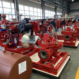 China 1500GPM Horizontal Split Case Double Suction Centrifugal Pump With Single Stage supplier