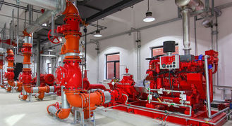 China Europe Original Demaas Diesel Engine For Fire Fighting Pump , Fire Diesel Engine supplier