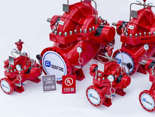 China Ductile Cast Iron Split Case Fire Pump For Subway Stations 1500GPM @ 170PSI supplier
