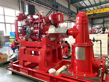 China Ul Fm Approved Multistage Diesel Engine Driven Fire Water Pump Set With 250 Usgpm supplier