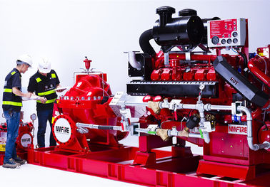 China Demaas  Fire Diesel Engine Used In Fire Water Pump Set , Highly Effective supplier