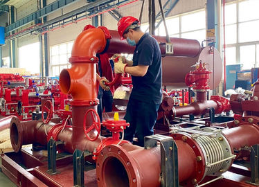 China UL Listed And FM Approved Skid Mounted Fire Pump  Package NFPA 20 supplier