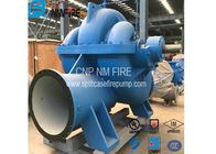 Split Case Emergency Fire Engine Water Pump Ductile Cast Iron Materials