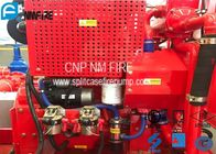 China Red Fire Pump Diesel Engine 86KW Water Cold Cooling For Firefighting factory