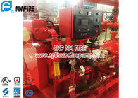 China Red FM Approval 300 Hp Diesel Water Pump Engine Used In The Firefighting factory