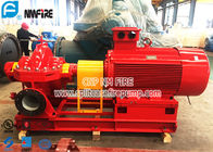 China 500 Gpm TEFC Electric Motor Driven Fire Pump Sets , Fighter Pump UL And FM Listed factory