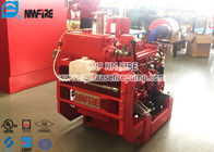 China 38KW UL Diesel Driven Fire Water Pumps / Fire Engine Water Pump With High Speed factory