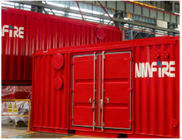 3D Design Skid Mounted Fire Pump For Outdoor Containerised Fire Fighting