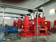 China NM Fire 750 Gpm Vertical Turbine Fire Pump With Electric Motor Driven factory