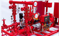 Multi Functional 750 GPM End Suction Fire Pump With Electric Motor Driven 155 PSI