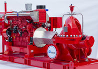 Single Stage End Suction Fire Pump 250GPM@125PSI With Diesel Engine Drive