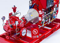 China UL FM Approved Horizontal Split Case Fire Pump 500GPM / 312 Feet NFPA20 Standard company