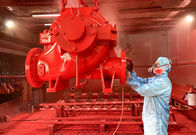 China NFPA20 Standard Split Case Horizontal Centrifugal Pump / 500 Gpm Fire Pump company