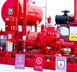 Skid Mounted Firefighting System Fire Pump Set 400GPM / 135PSI NFPA20 Standard
