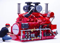 DeMaas Brand Fire Pump Diesel Engine For Firefighting , Pumping Set Diesel Engine