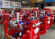 163KW 1500rpm Speed Diesel Engine For Fire Fighting Pump , NFPA20 Standard