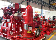 SS 304 Impeller NM Vertical Fire Pump / Vertical Line Shaft Pump 1000GPM