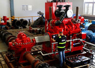 UL FM Approved Fire Pump Diesel Engine 352KW With 1900-3000rpm Speed