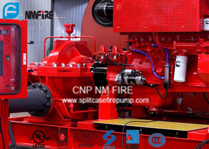 750GPM@200PSI Diesel Engine Driven Fire Water Pump NFPA20