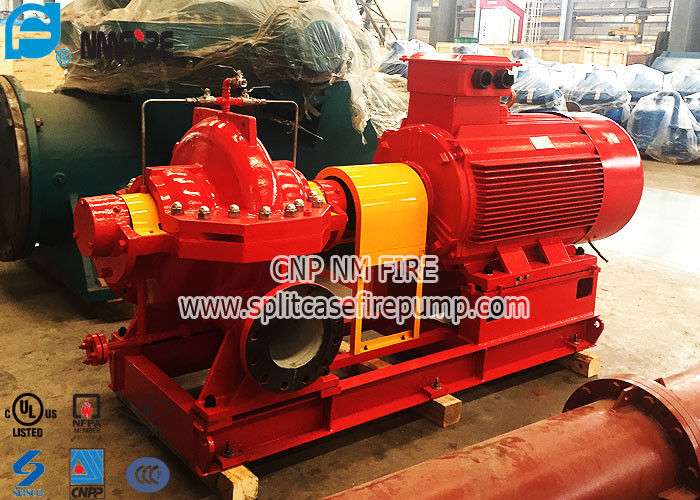 Superior Grade Horizontal Electric Start Fire Fighting Pump Ul And