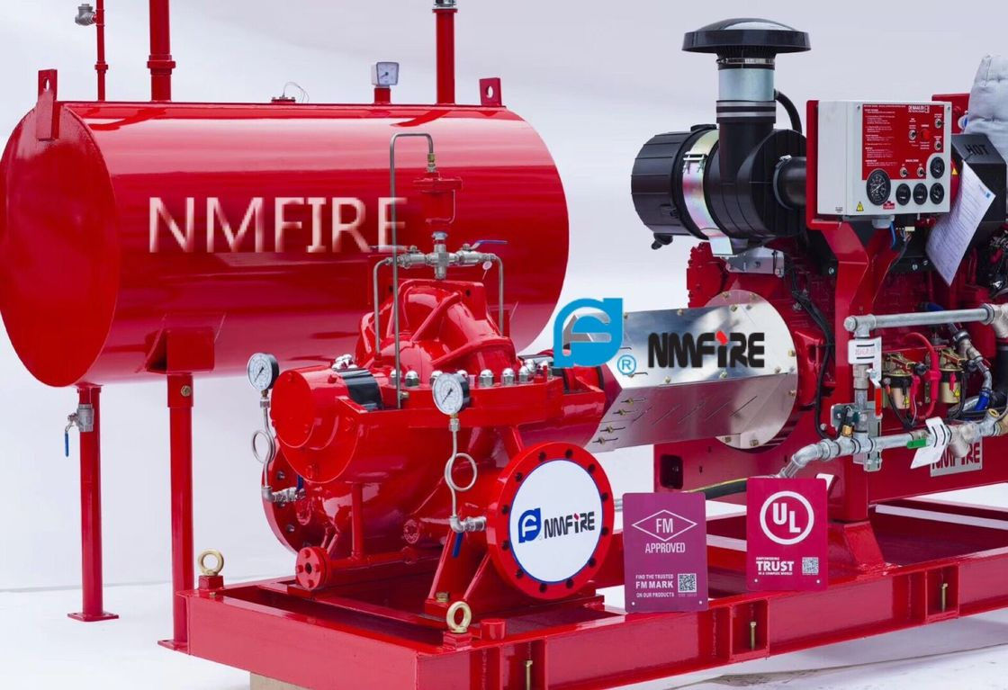 UL Listed / FM Approved Diesel Engine Fire Pump