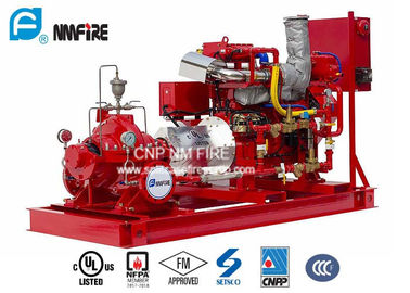 China For Water Use UL/FM Listed Diesel Engine Drive Fire Pump With 1250GPM @ 150PSI  Horizontal Split case Fire Pump factory