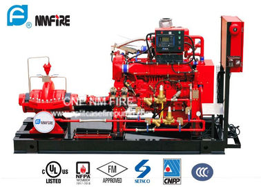 China 750GPM @ 140PSI UL/FM  Listed Diesel Engine Drive Fire Pump With Horizontal Split case Fire Pump For Fire Fighting factory