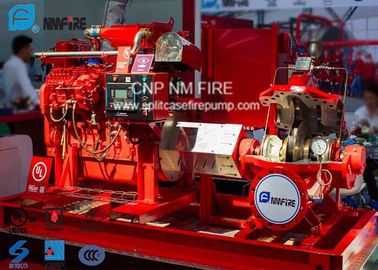 China 1250GPM @ 120PSI Diesel Engine Drive Fire Pump With Horizontal Centrifugal Split case Fire Pump UL/FM Approval factory