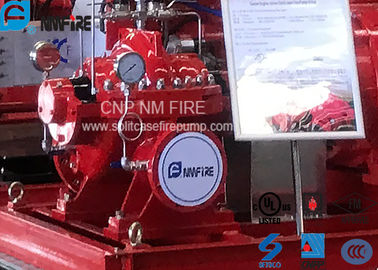 China Horizontal Centrifugal Fire Pump Ductile Cast Iron With Air / Water Cooling distributor