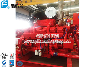 China Cummins Brand Fire Pump Engine Used In Fire Water Pump Set , Highly Effective distributor