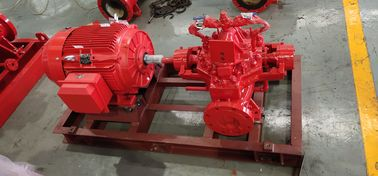 China 300 GPM 83 PSI Fire Fighting Pump System , SS UL FM Diesel Fire Pump Package distributor