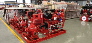 China Horizontal End Suction Electric Motor Driven Fire Pump 68.2M3/H 60m UL FM NFPA20 distributor
