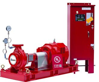 China NFPA-20 Centrifugal End Suction Fire Pump One Stage For Oil Terminals distributor