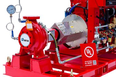 China UL & FM DIESEL DRIVEN FIRE WATER PUMPS END SUCTION PUMP WITH CONTROLLER distributor