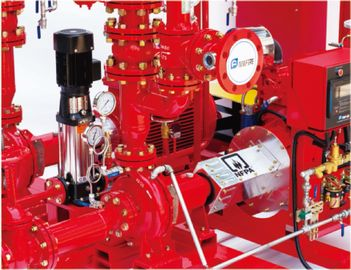 China Fire Fighting End Suction Fire Pump , Diesel Engine Fire Pump 500 Gpm@111psi centrifugal end suction pump ul listed fire distributor