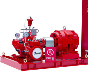 China Oil Depots Electric Motor Driven Fire Pump 500GPM / 150PSI UL Listed distributor
