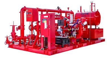 China Schools / Supermarkets Diesel Fire Pump Package 4000GPM With 315.1KW Max Shaft Power distributor