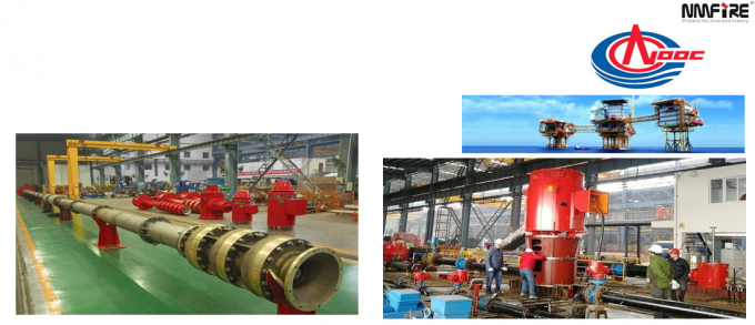 Multistage Vertical Turbine Centrifugal Pump , Submersible Vertical Turbine Pump