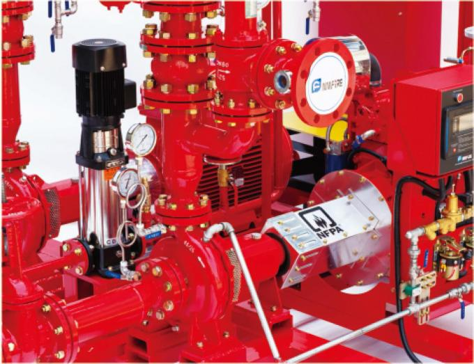 UL FM End Suction Pump  Fire Pump centrifugal pump 50hz/ 60HZ motor Driver diesel engine fire pump fire fighting system