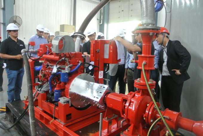 Firefighting System Diesel Engine Driven Fire Pump For Water Use 400GPM @ 130PSI