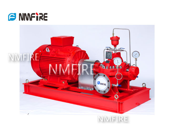 Electrical Fire Fighting Pump System / Bronze Impeller End Suction Fire Pump