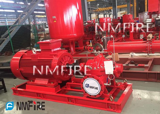 Multi Functional Diesel Engine Driven Fire Pump For Large Scale Commercial Complex