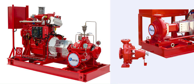 Motor Driven Electric Motor Driven Fire Pump With Eaton Cotroller UL/FM NFPA20